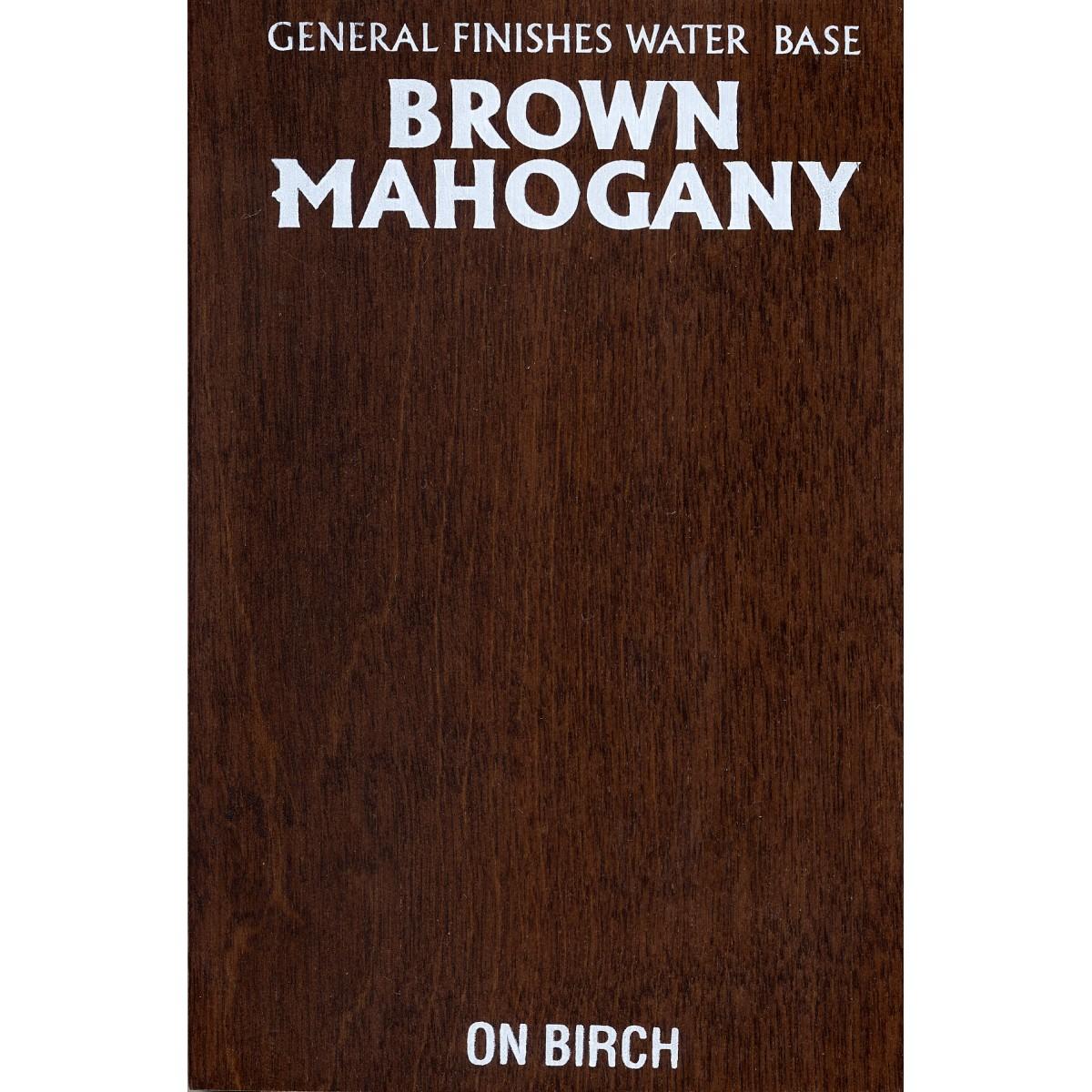 Mahogany Wood Stain ~ Wood stain brown mahogany ml