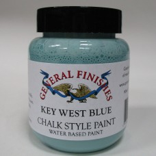 Chalk Style Paint Key West Blue Sample Pot - 90ml