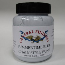 Chalk Style Paint Summertime Blue Sample Pot - 90ml