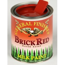 Milk Paint Brick Red - 473ml