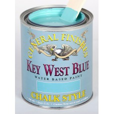Chalk Style Paint Key West Blue - 473ml