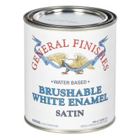 Brushable White Enamel Satin - 946ml