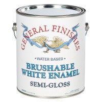 Brushable White Enamel Semi-Gloss - 3.785 litre