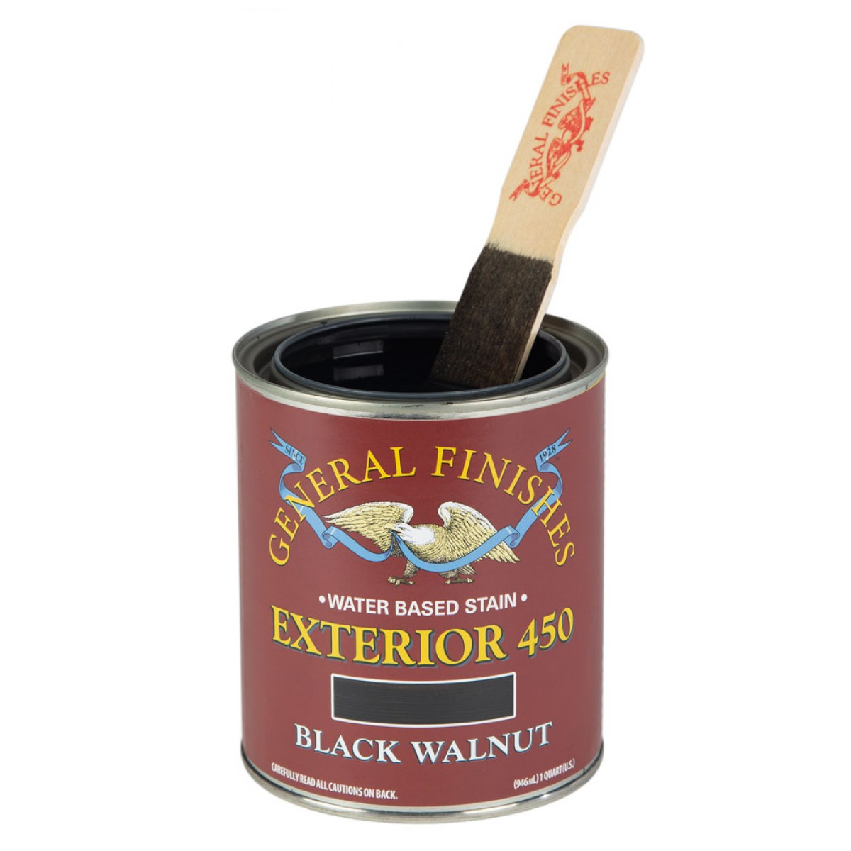 Exterior 450 Wood Stain Black Walnut 946ml
