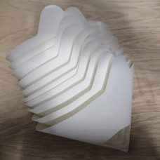 Paint Strainers 280 Micron (for spraying Milk Paint). Pack of 10.