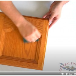 How to Power Prep Existing High Use Finishes for Stain or Paint Video