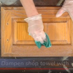 How to Prep Clean an Existing Finish for Paint or Stain Video