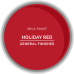 Milk Paint Holiday Red Sample Pot - 95ml