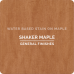 Wood Stain Shaker Maple - 946ml