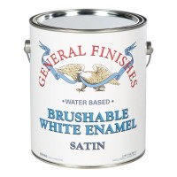 Brushable White Enamel Satin - 3.785 litre