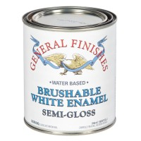 Brushable White Enamel Semi-Gloss - 946ml