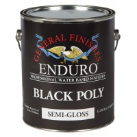 Black Pigmented Poly Semi-Gloss - 3.785 litre