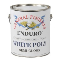 White Pigmented Poly Semi-Gloss - 3.785 litre