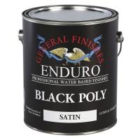 Black Pigmented Poly Satin - 3.785 litre