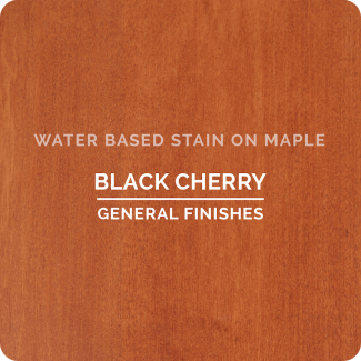 Black Cherry on Maple