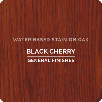 Black Cherry on Oak